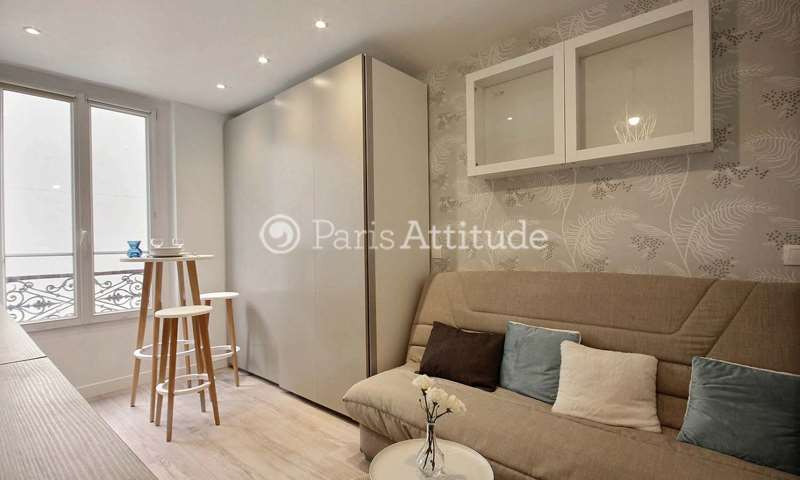 Rent Apartment Studio 16m² rue Sauffroy, 17 Paris