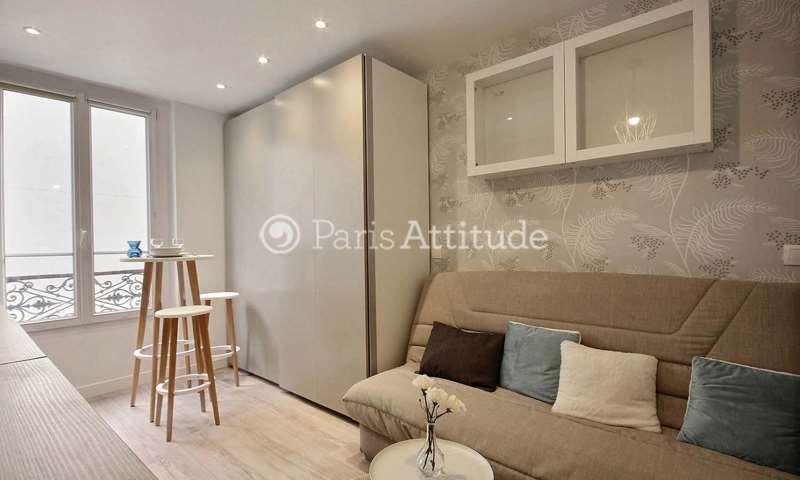 Rent Apartment Studio 16m² rue Sauffroy, 17 Paris