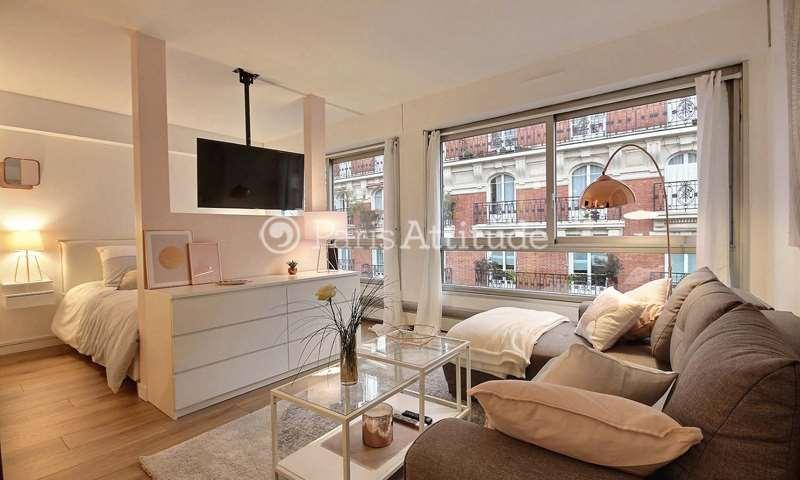 Rent Apartment Alcove Studio 31m² villa poirier, 15 Paris