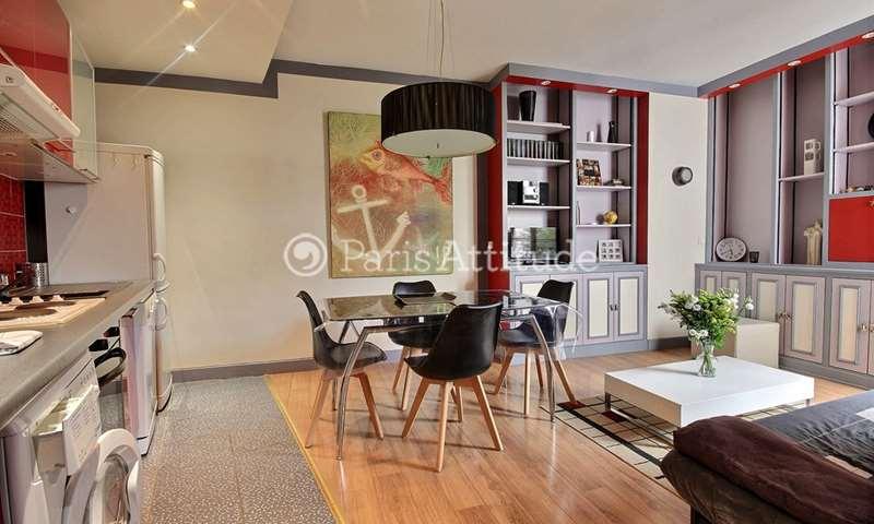 Rent Apartment 1 Bedroom 35m² rue de l Amiral Roussin, 15 Paris