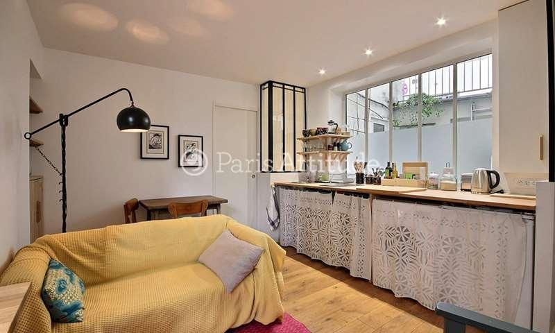 Rent Apartment 1 Bedroom 25m² rue Drevet, 18 Paris