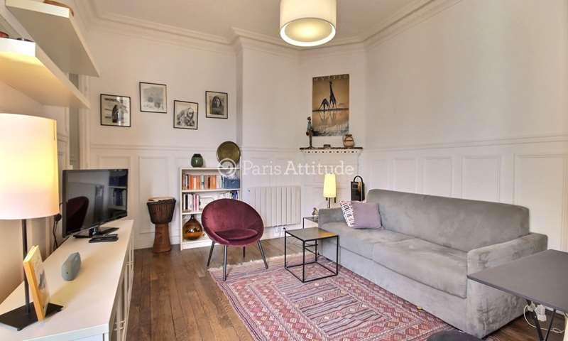 Rent Apartment 1 Bedroom 30m² rue Beaunier, 14 Paris