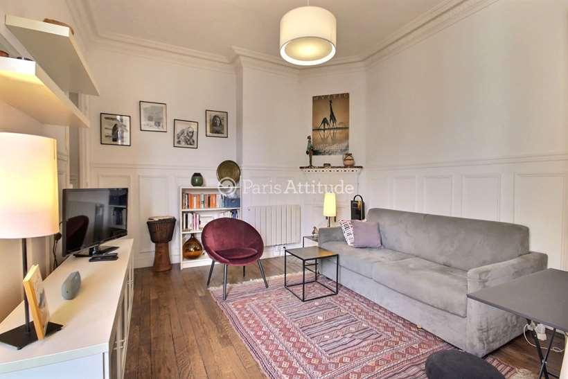 Rent furnished Apartment 1 Bedroom 30m² rue Beaunier, 75014 Paris