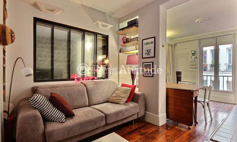Rent Apartment 1 Bedroom 35m² rue Labat, 18 Paris