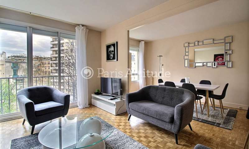 Rent Apartment 2 Bedrooms 85m² rue Alfred Bruneau, 75016 Paris