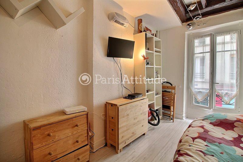 Louer Appartement meublé Studio 18m² rue Veron, 75018 Paris