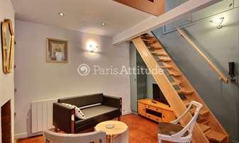 Rent Duplex 1 Bedroom 23m² rue Guisarde, 6 Paris