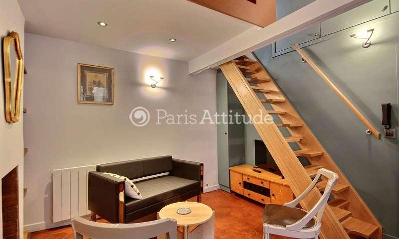 Location Duplex 1 Chambre 23m² rue Guisarde, 6 Paris