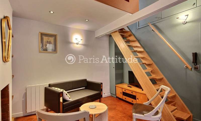 Rent Duplex 1 Bedroom 18m² rue Guisarde, 75006 Paris
