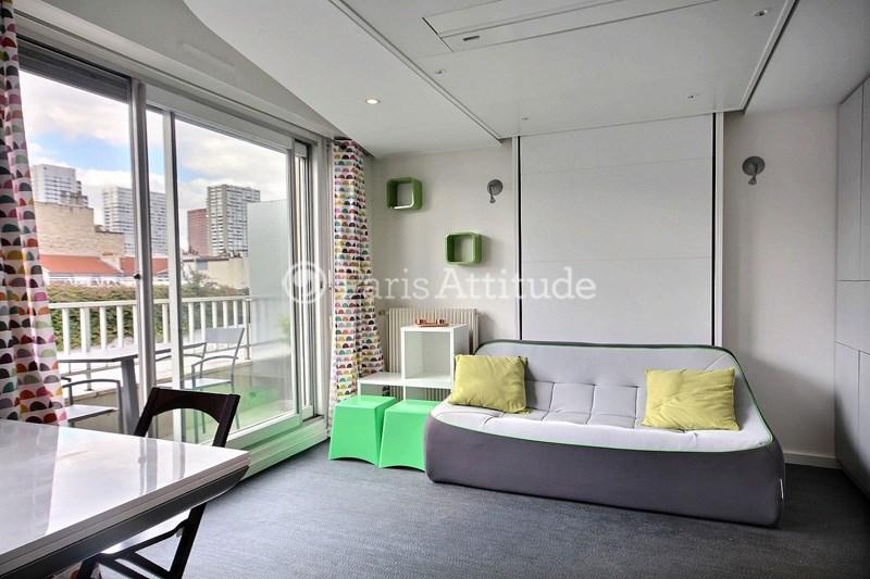 Location Appartement Studio 23m² rue Sainte Lucie, 75015 Paris