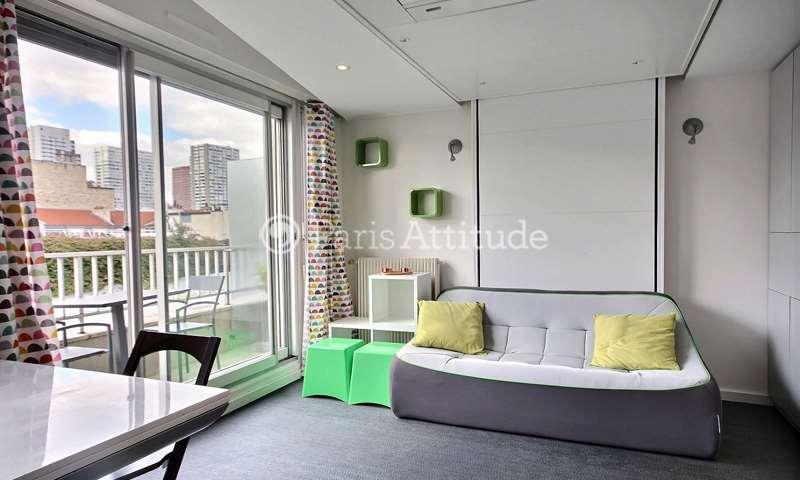 Rent Apartment Studio 23m² rue Sainte Lucie, 15 Paris