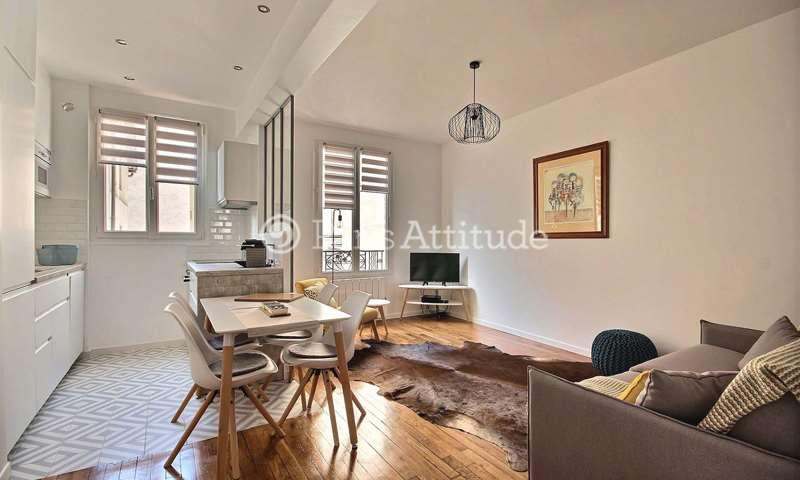 Rent Apartment 2 Bedroom 47m² boulevard Voltaire, 75011 Paris