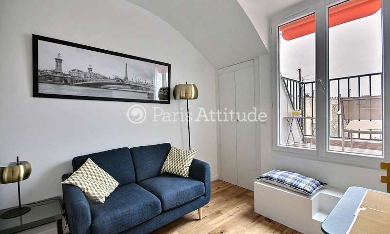 Rent Apartment 1 Bedroom 22m² rue Chapon, 75003 Paris