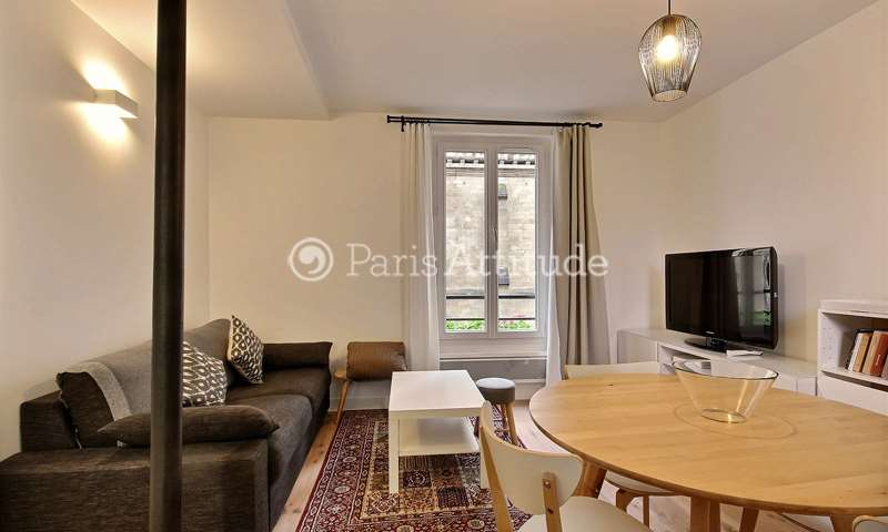 Rent Apartment 1 Bedroom 38m² rue Lassus, 19 Paris