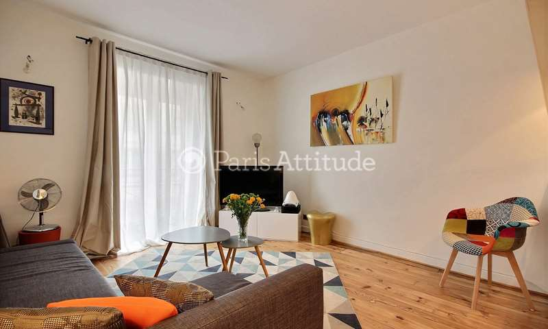 Rent Apartment 1 Bedroom 40m² rue du Faubourg Du Temple, 11 Paris
