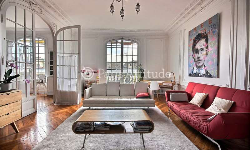 Rent Apartment 4 Bedrooms 190m² Cité Malesherbes, 9 Paris
