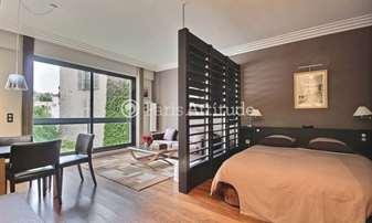 Rent Apartment Alcove Studio 42m² avenue Foch, 16 Paris