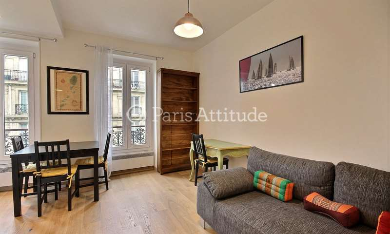 Rent Apartment 1 Bedroom 27m² rue Ordener, 75018 Paris
