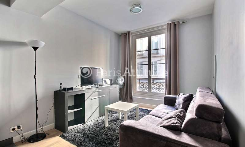 Rent Apartment 1 Bedroom 33m² rue Saint Martin, 3 Paris