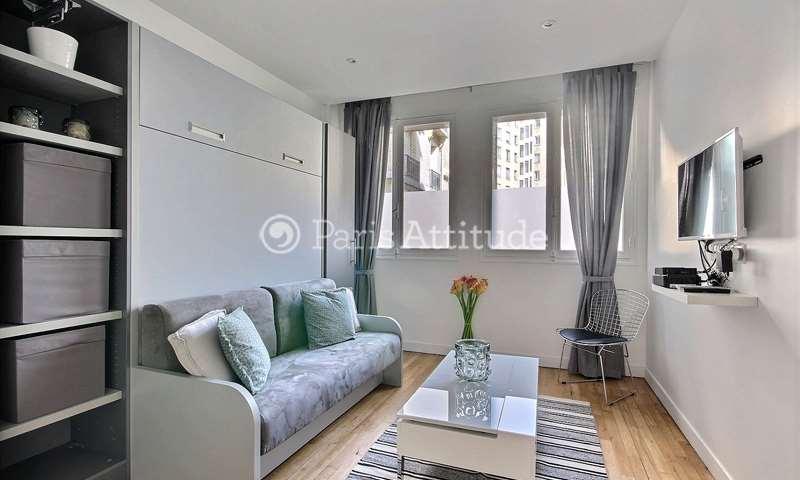 Rent Apartment Studio 19m² square Mozart, 16 Paris