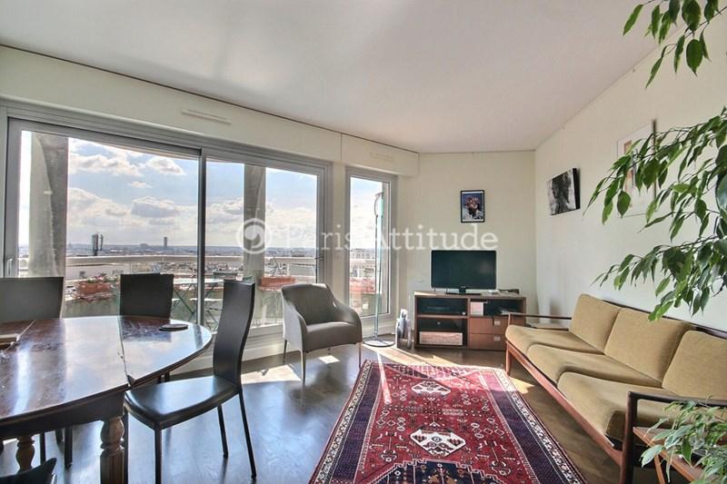 Location Appartement 2 Chambres 67m² avenue Simon Bolivar, 75019 Paris