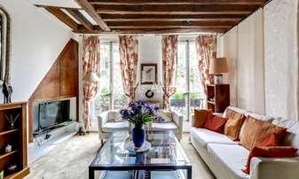 Rent Duplex 2 Bedrooms 53m² rue Jacob, 6 Paris