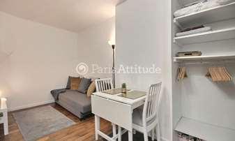 Rent Apartment Studio 15m² rue Doudeauville, 18 Paris