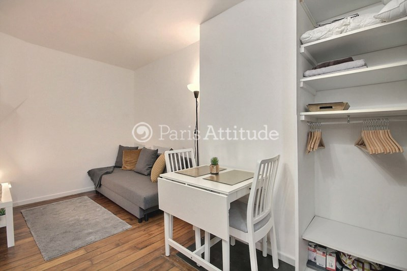 Location Appartement Studio 15m² rue Doudeauville, 75018 Paris