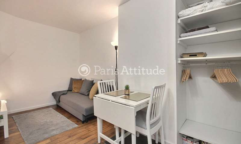 Rent Apartment Studio 15m² rue Doudeauville, 75018 Paris