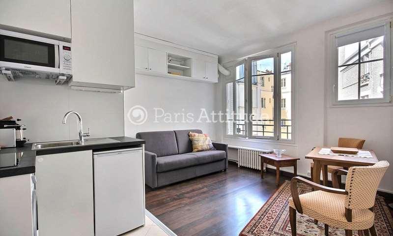 Rent Apartment Studio 19m² rue Championnet, 18 Paris