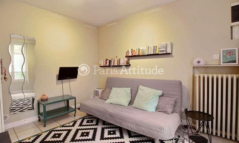 Rent Apartment Studio 17m² rue Juge, 75015 Paris