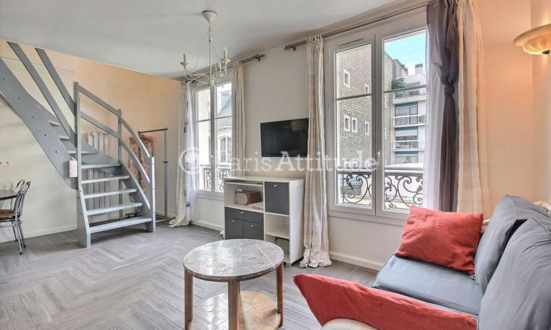 Rent Duplex 1 Bedroom 38m² passage Landrieu, 7 Paris