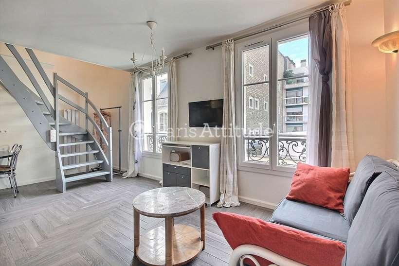 Rent furnished Duplex 1 Bedroom 38m² passage Landrieu, 75007 Paris