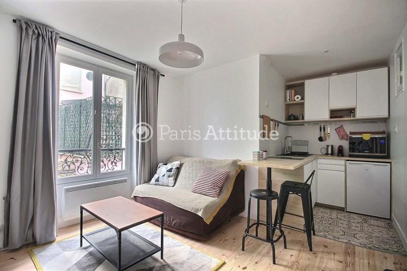 Location Appartement 1 Chambre 26m² impasse du Talus, 75018 Paris