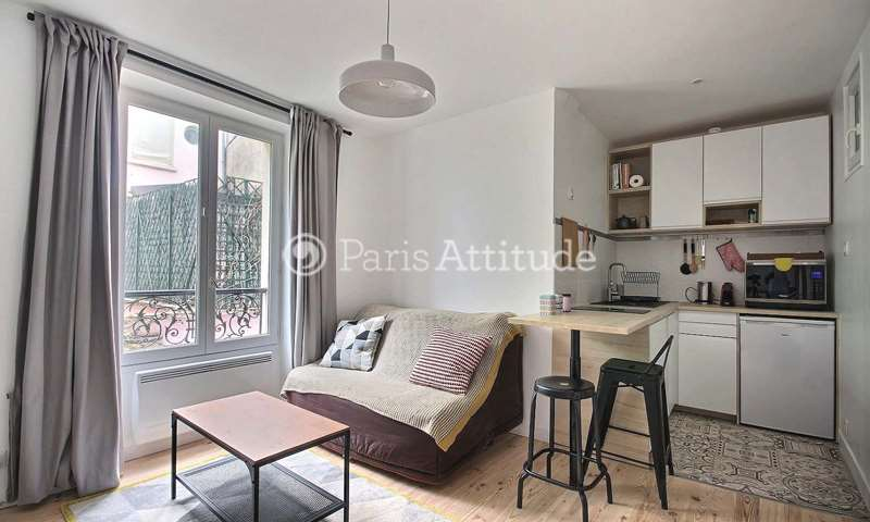 Rent Apartment 1 Bedroom 26m² impasse du Talus, 18 Paris