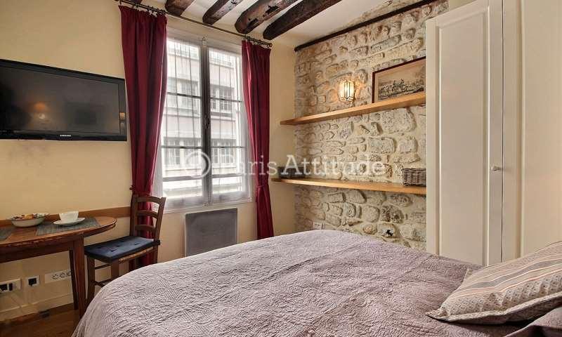 Location Appartement Studio 18m² rue Saint Louis en l Île, 75004 Paris