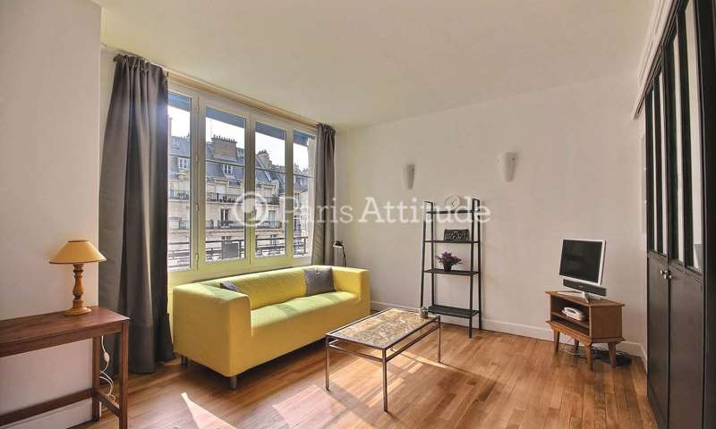 Rent Apartment 1 Bedroom 38m² rue des Acacias, 17 Paris
