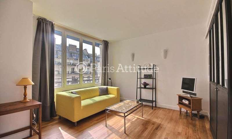 Aluguel Apartamento 1 quarto 38m² rue des Acacias, 17 Paris