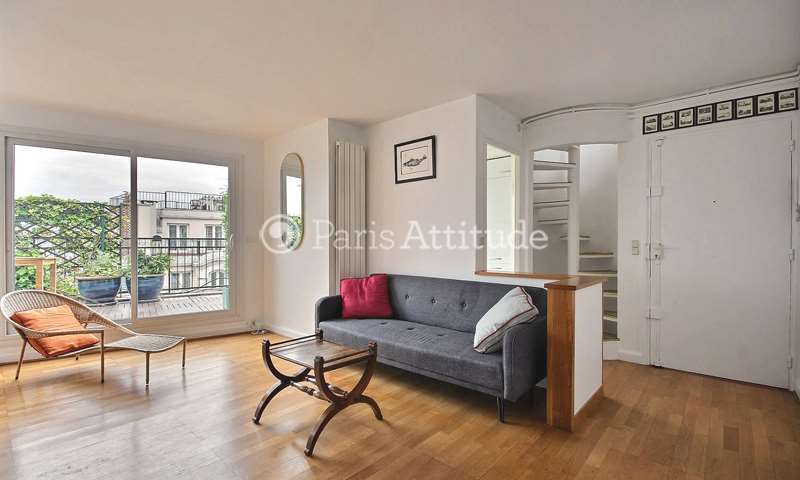 Rent Apartment 2 Bedrooms 80m² rue Legendre, 17 Paris