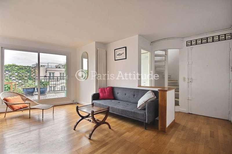 Louer Appartement meublé 2 Chambres 80m² rue Legendre, 75017 Paris