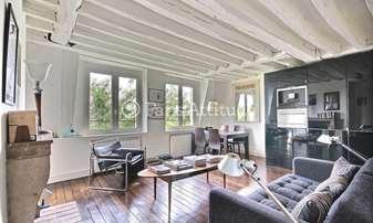 Rent Apartment 1 Bedroom 40m² quai de Bourbon, 4 Paris