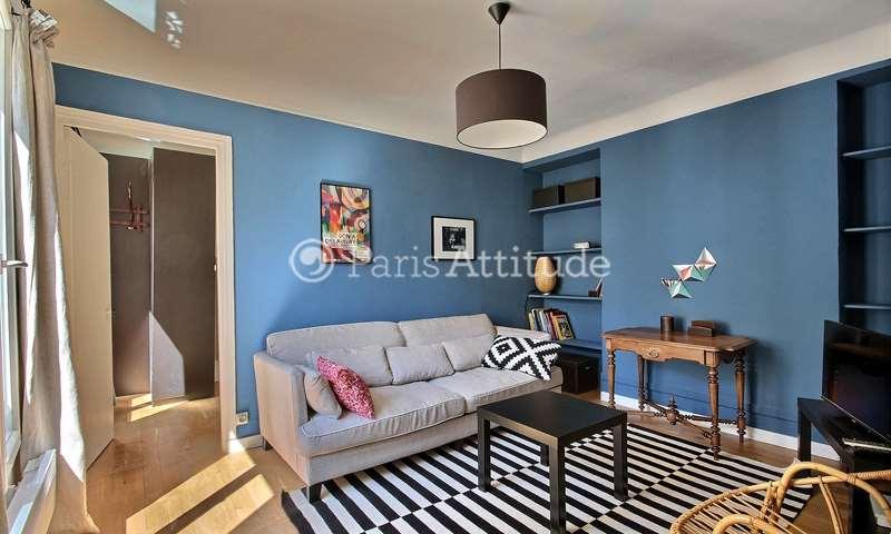 Rent Apartment 1 Bedroom 35m² rue du Faubourg Montmartre, 75009 Paris