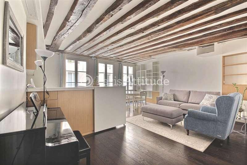 Louer Appartement meublé 1 Chambre 50m² rue Saint Denis, 75002 Paris