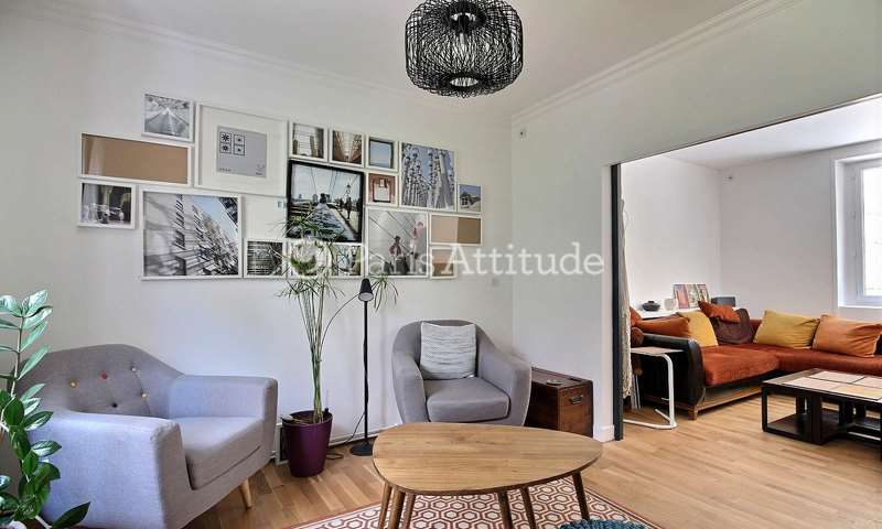Rent Duplex 2 Bedroom 100m² impasse du Talus, 75018 Paris