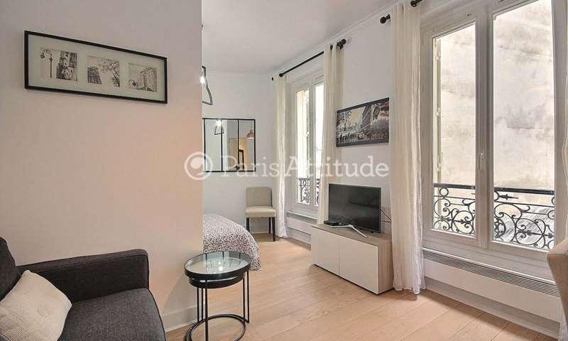 Rent Apartment Alcove Studio 24m² rue Pache, 75011 Paris