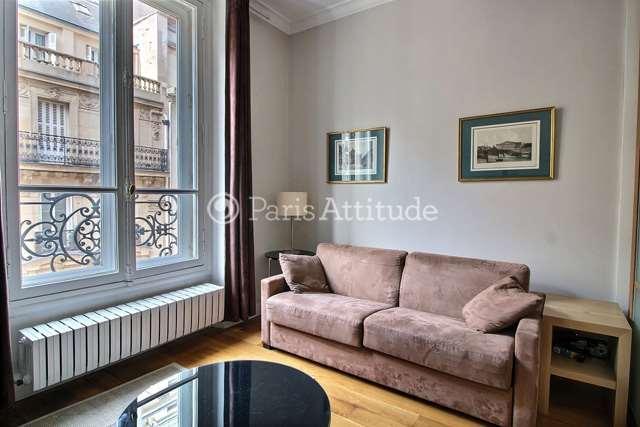 Rent furnished Apartment 1 Bedroom 45m² rue de Berri, 75008 Paris