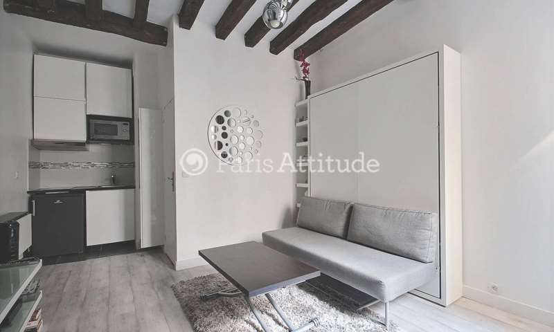 Rent Apartment Studio 20m² rue Quincampoix, 3 Paris