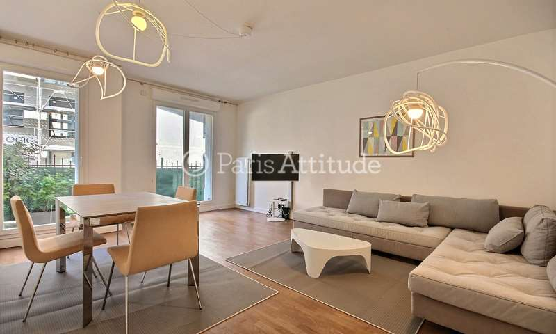 Location Appartement 2 Chambres 65m² Rue Michel de l'Hôpital, 92130 Issy les Moulineaux