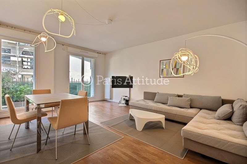 Louer Appartement meublé 2 Chambres 65m² Rue Michel de l'Hôpital, 92130 Issy les Moulineaux