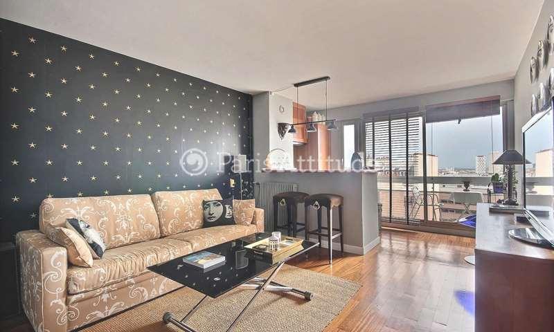Rent Apartment 1 Bedroom 47m² rue Orfila, 20 Paris